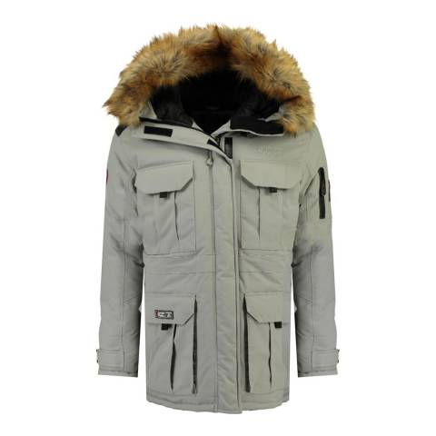 Canadian Peak Boy's Grey Algoseak Parka Jacket