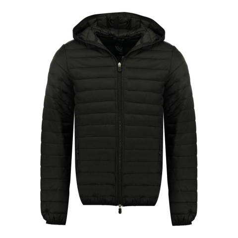 Canadian Peak Boy's Black Daypeak Parka Jacket