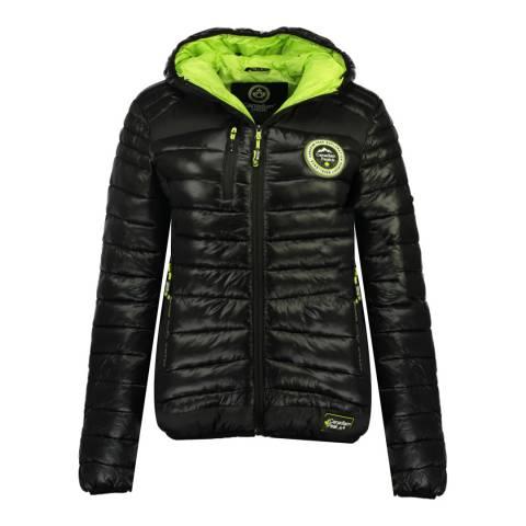 Canadian Peak Girl's Black Briouteaka Parka Jacket