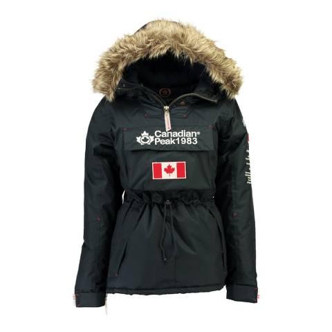 Canadian Peak Girl's Navy Banapeak Parka Jacket