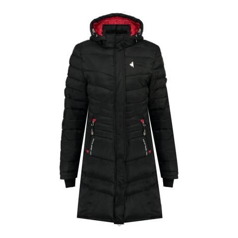 Canadian Peak Girl's Black Corella Parka Jacket