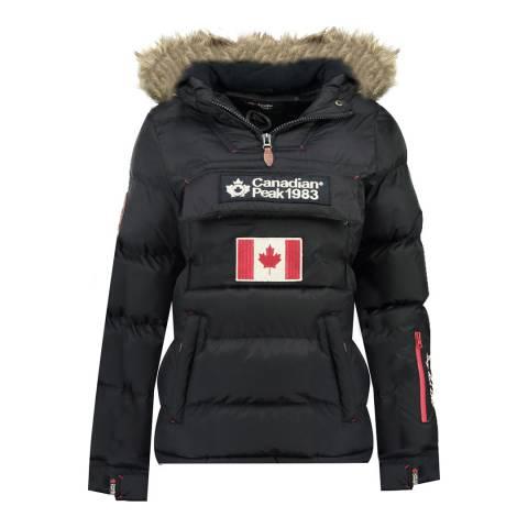 Canadian Peak Girl's Navy Bettycheak Parka Jacket