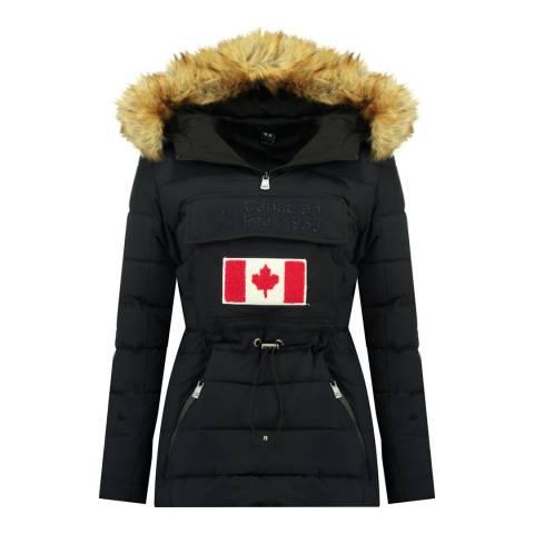 Canadian Peak Girl's Navy Bunnypeak Parka Jacket