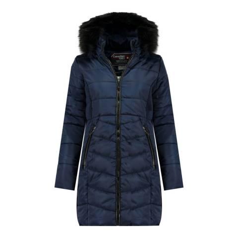 Canadian Peak Girl's Black Armonica Parka Jacket