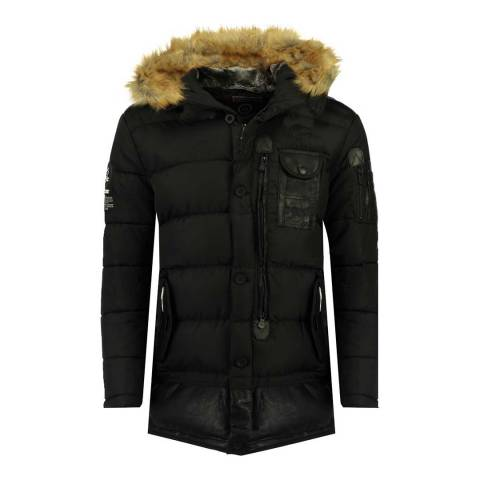 Canadian Peak Boy's Black Bustipeak Parka Jacket