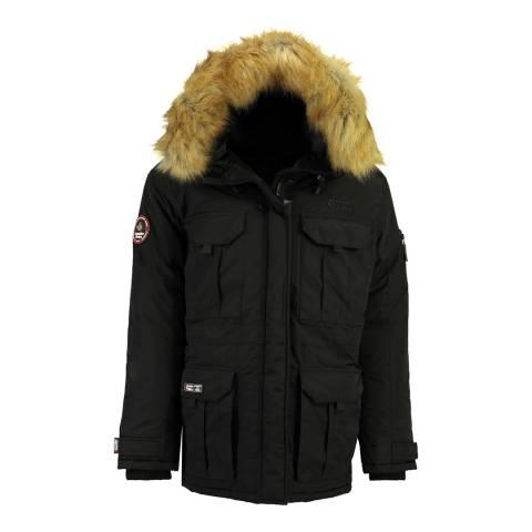 Canadian Peak Boy's Black Algoseak Parka Jacket