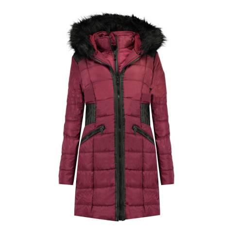 Canadian Peak Girl's Burgundy Andreas Parka Jacket