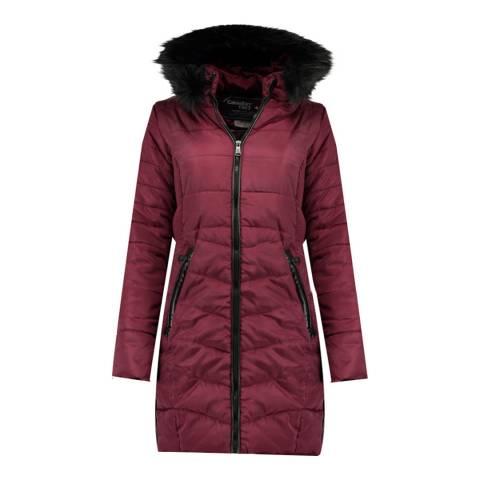 Canadian Peak Girl's Burgundy Armonica Parka Jacket