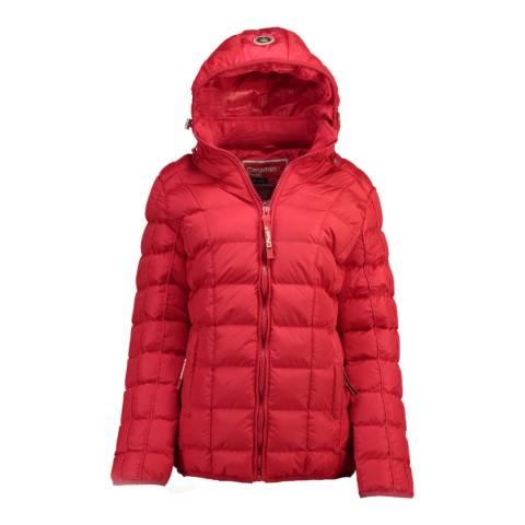 Canadian Peak Girl's Red Bambolineak Parka Jacket