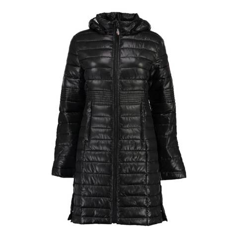 Geographical Norway Girl's Black Afaella Parka