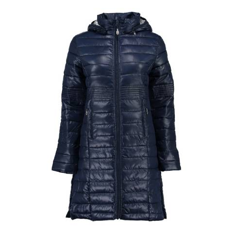 Geographical Norway Girl's Navy Afaella Parka