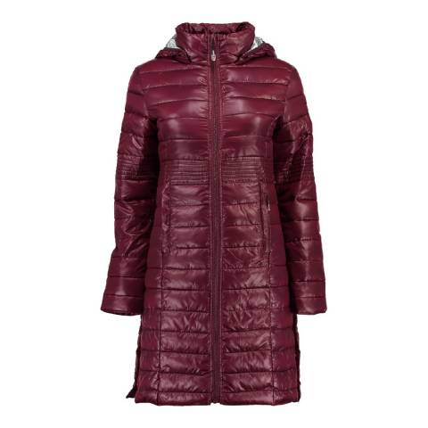 Geographical Norway Girl's Burgundy Afaella Parka