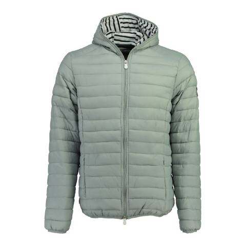 Geographical Norway Boy's Light Grey Dune Hood Parka