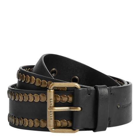 AllSaints Black Bathsheba Belt