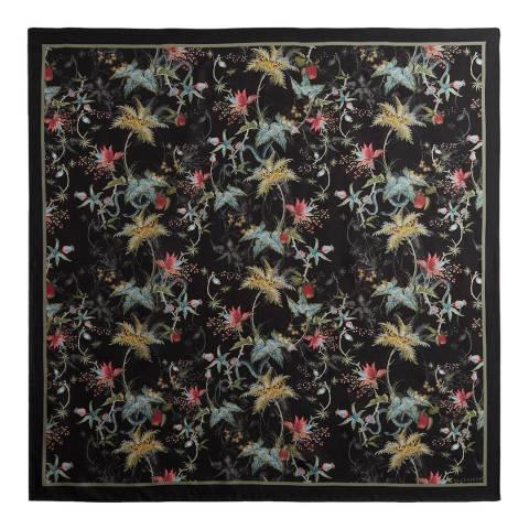 AllSaints Black Evolution Silk Square