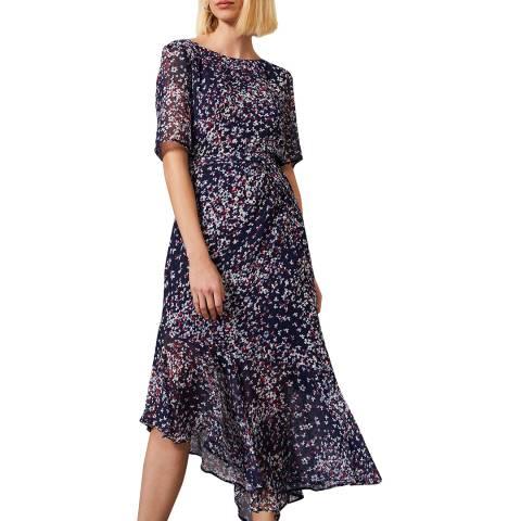 Phase Eight Navy Klara Dress