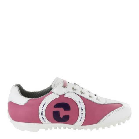 Duca del Cosma Pink/White Kubana Golf Shoe