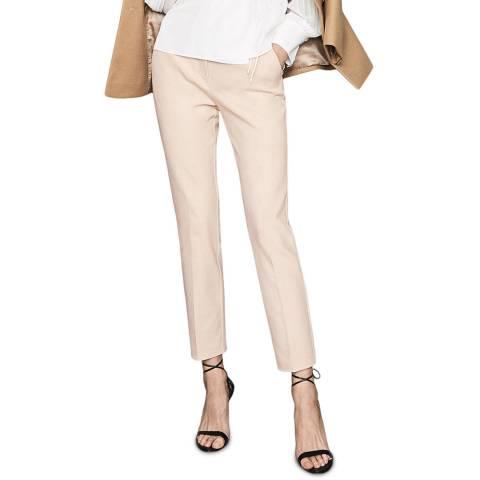Reiss Cream Joanne Casual Trousers