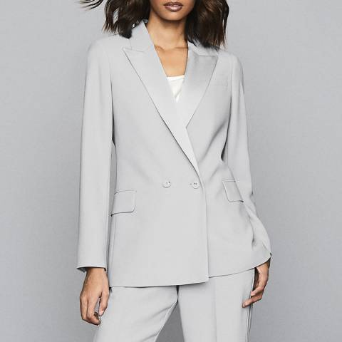 Reiss Grey Cleo Fluid Jacket