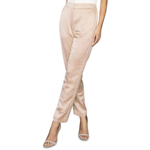 Reiss Pink Savannah Pull on Trousers