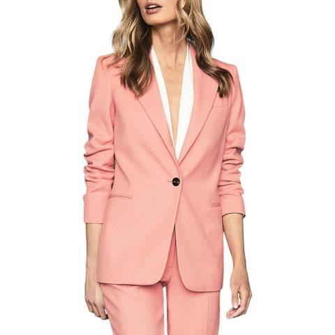 Reiss Pink Phoenix Tailored Jacket
