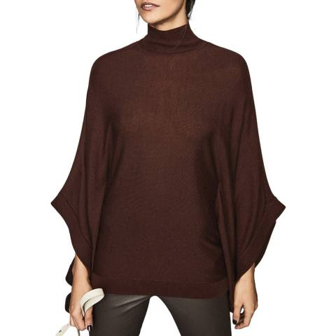 Reiss Berry Lolita Batwing Wool Blend Jumper