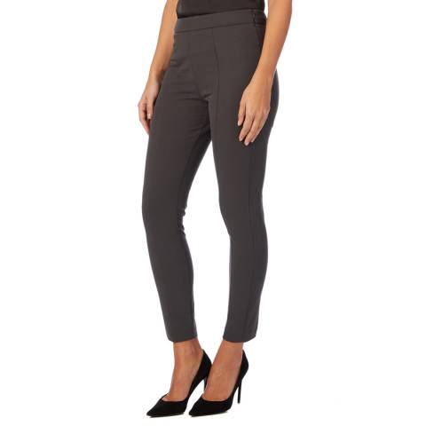 Reiss Charcoal Nessa Casual Stretch Trousers