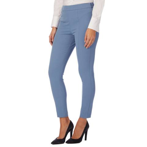 Reiss Blue Nessa Casual Stretch Trousers