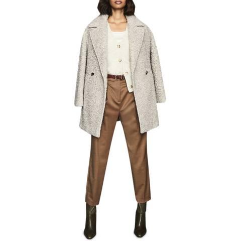 Reiss Grey Scarlet Teddy Coat