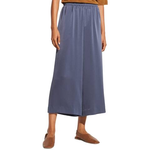 Vince Blue Pull On Culottes