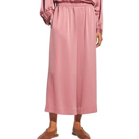 Vince Pink Pull On Culottes