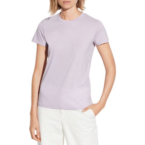 Vince Lilac Essential Pima Cotton T-Shirt