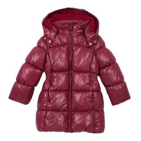Chicco Dark Red Padded Parka Jacket