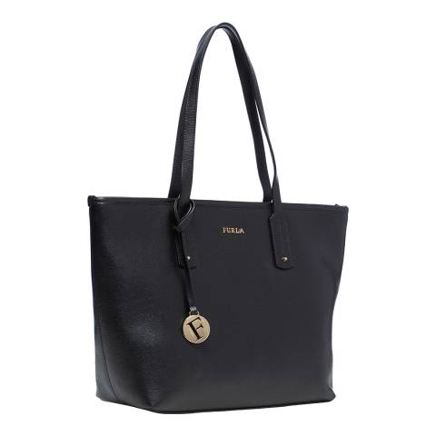 Furla Black New Daisy Medium EW Tote