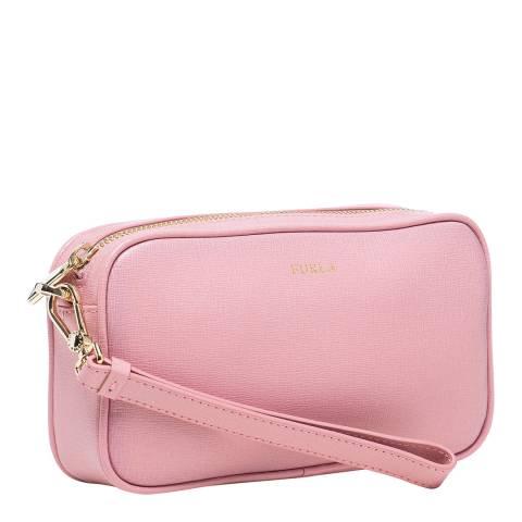 Furla Winter Rose Annie Medium Clutch Bag