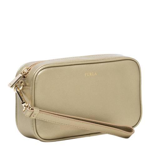 Furla Gold Annie Medium Clutch Bag
