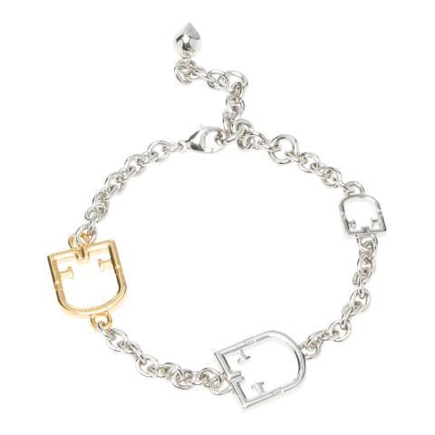 Furla Silver Furla Scudo Bracelet