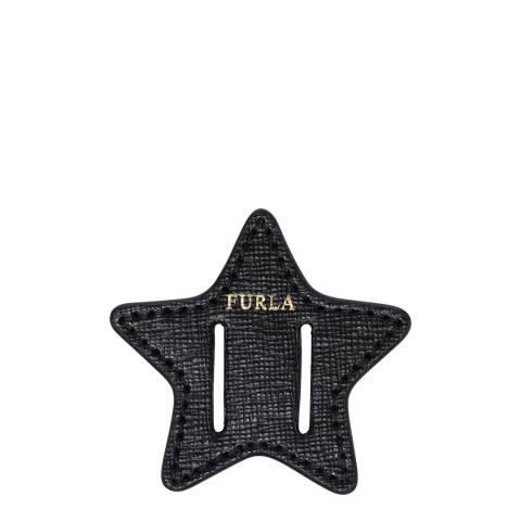 Furla Black Star Belt Buckle