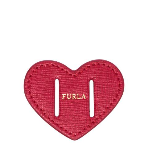 Furla Ruby Heart Belt Buckle