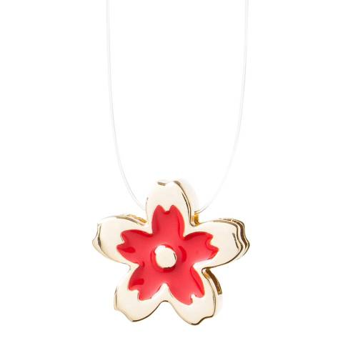 Furla Ruby My Glam Flower Charm