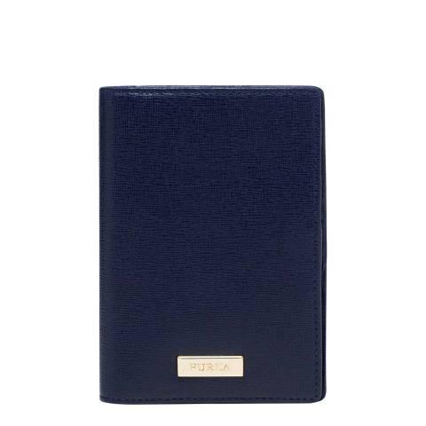 Furla Navy Classic Passport Holder