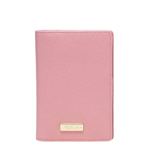 Furla Winter Rose Classic Passport Holder