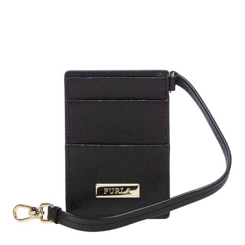 Furla Black Italia Card Case