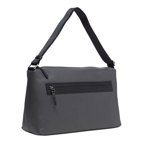 Furla Grey Hunter Hobo Bag