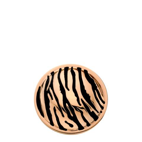 Emozioni 33mm Faux Tiger Print Coin