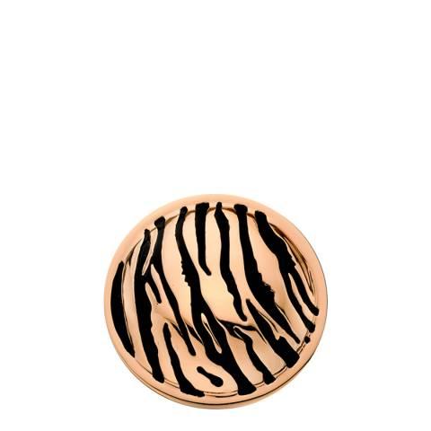 Emozioni 25mm Faux Tiger Print Coin