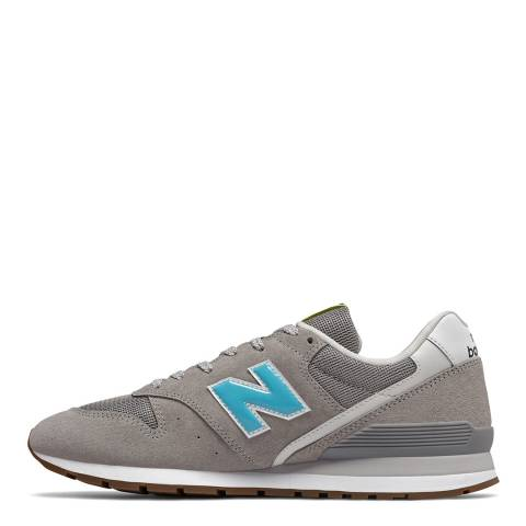 New Balance Blue & Grey All 998 Low Sneakers