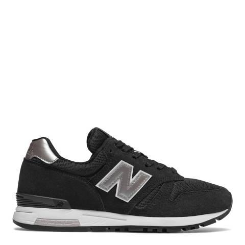 New Balance Black Classic 565 Low Trainers