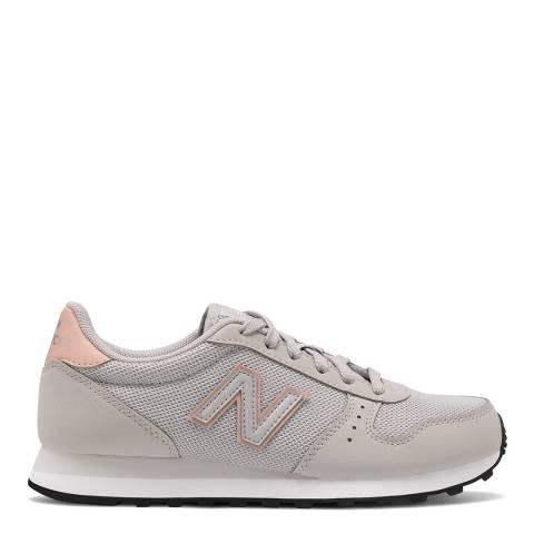 New Balance Beige/Pink 311 Sneakers
