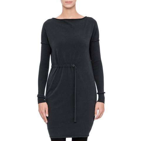 SARAH PACINI Long sweater – soft belt